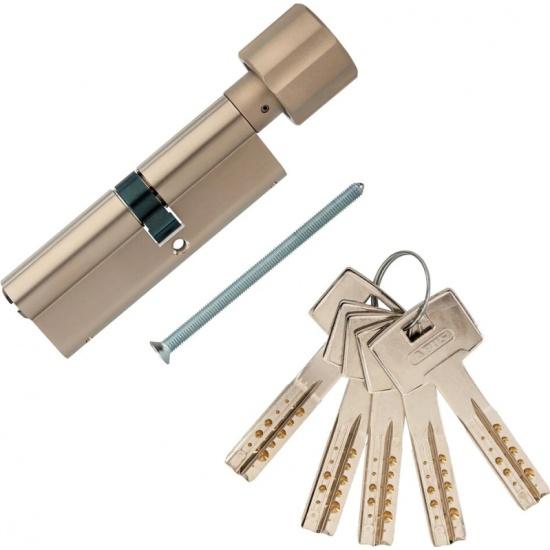 Цилиндр (Личинка замка) ABUS M12R430 ключ/вертушка 50-40 (90 мм) NI - купить в интернет-магазине ОНЛАЙН ТРЕЙД.РУ