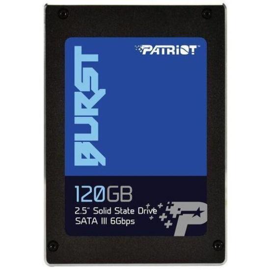 SSD диск PATRIOT 2.5 Burst 120 Гб SATA III TLC PBU120GS25SSDR- купить по выгодной цене в интернет-магазине ОНЛАЙН ТРЕЙД.РУ Санкт-Петербург