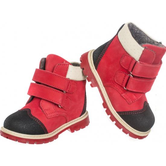bdd7045d6 Ботинки детские ортопедические TWIKI TW-320-5 красный, размер 22  Изображение 3 -