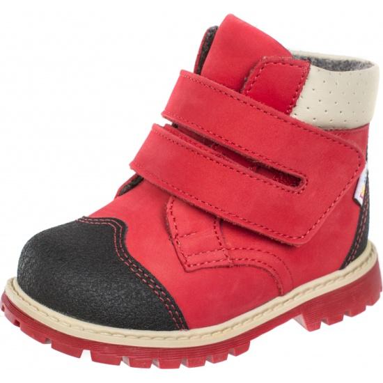 2eb2f1df2 Ботинки детские ортопедические TWIKI TW-320-5 красный, размер 25 - купить в