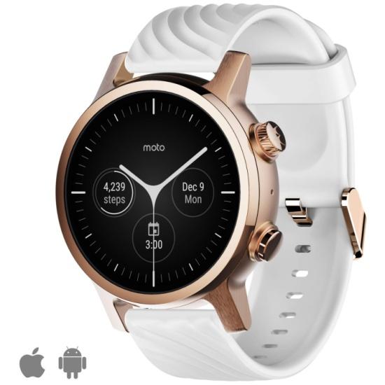 Умные часы Motorola Moto 360 3rd Gen 2020 Rose Gold — купить в интернет-магазине ОНЛАЙН ТРЕЙД.РУ