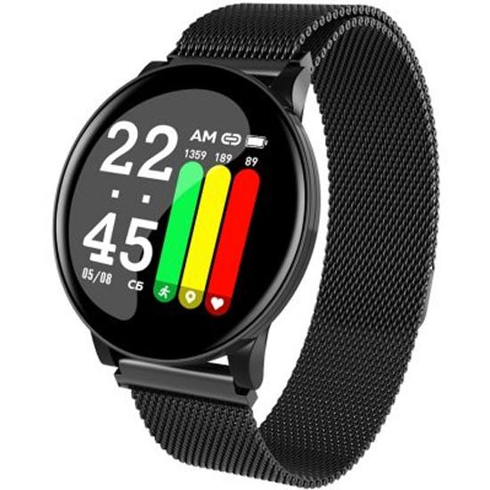 Умные часы Smarterra SmartLife UNO Чёрный