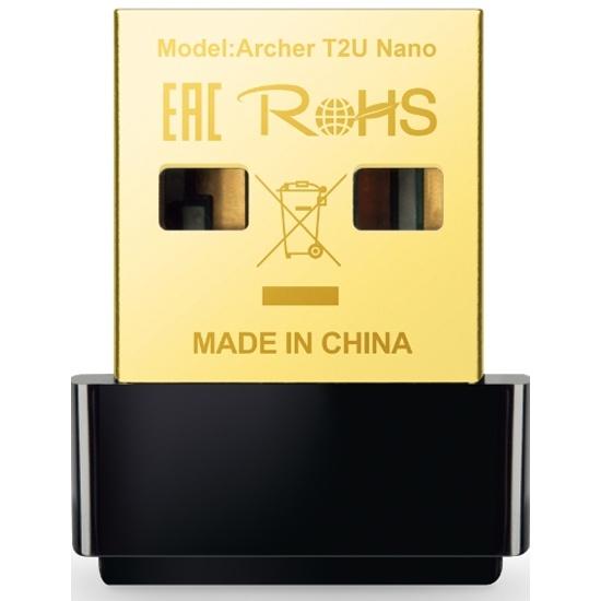 Wi-Fi USB-адаптер TP-LINK Archer T2U Nano Wi-Fi- купить по выгодной цене в интернет-магазине ОНЛАЙН ТРЕЙД.РУ Великий Новгород