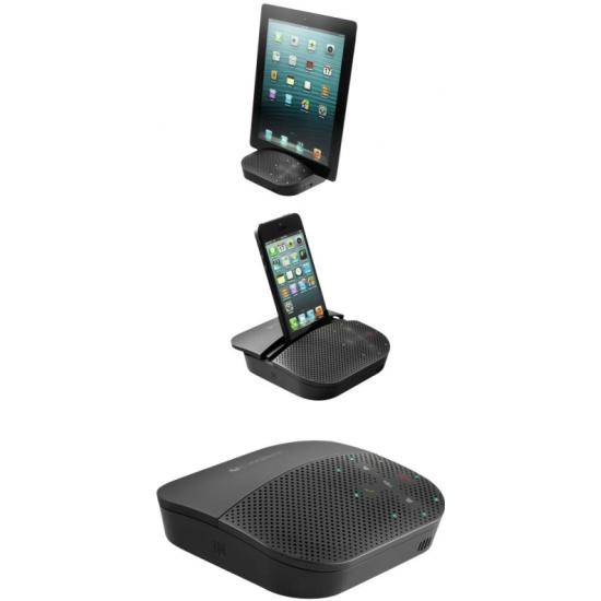 3656108386d Устройство громкой связи Logitech Mobile Speakerphone P710e Black  (980-000742) Изображение 6 -