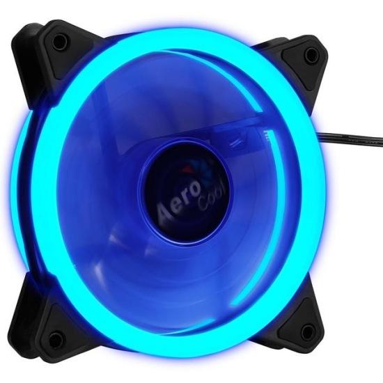 Вентилятор для корпуса Aerocool REV Blue 120мм (4713105960952)- купить по выгодной цене в интернет-магазине ОНЛАЙН ТРЕЙД.РУ Санкт-Петербург