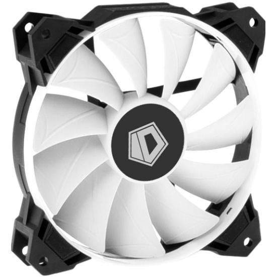 Вентилятор для корпуса ID-Cooling White 120mm 4-Pin 800-1800 RPM (WF-12025) — купить в интернет-магазине ОНЛАЙН ТРЕЙД.РУ