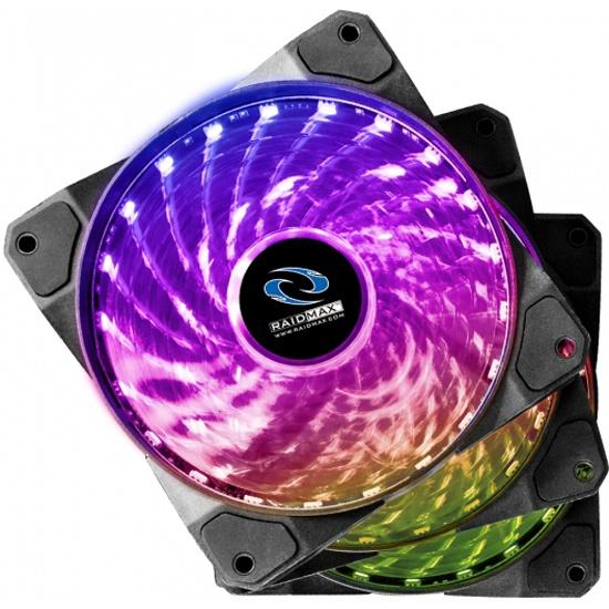 Вентилятор для корпуса RAIDMAX RGB 3 in 1 NV-A120R3