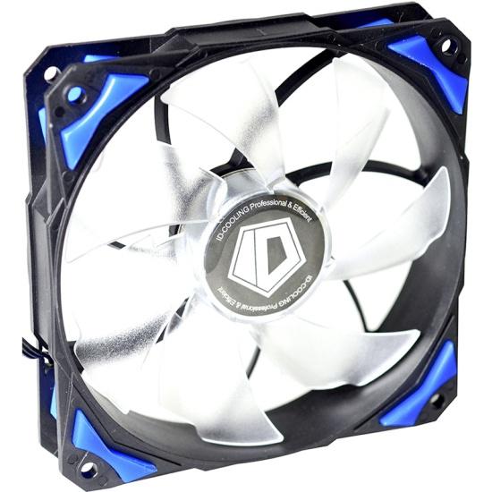 Вентилятор для корпуса ID-Cooling PL-12025-B Blue LED/PWM- купить по выгодной цене в интернет-магазине ОНЛАЙН ТРЕЙД.РУ Санкт-Петербург