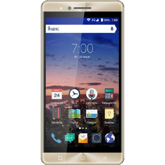457163ba8f8e6 Смартфон Vertex Impress Open, золотой - купить в интернет магазине с  доставкой, цены,