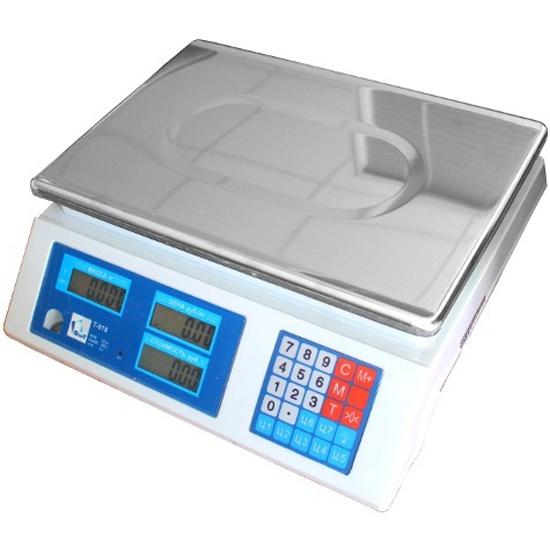 Весы торговые ФорТ-Т 918 (32.5) LCD (Оптима) — купить в интернет-магазине ОНЛАЙН ТРЕЙД.РУ