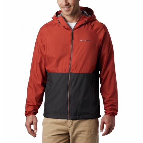 Ветровка COLUMBIA Spire Heights™ Jacket мужская, цвет темно-серый, размер L — купить в интернет-магазине ОНЛАЙН ТРЕЙД.РУ