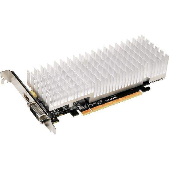 Видеокарта GIGABYTE GeForce GT 1030 1252Mhz PCI-E 3 0 2048Mb 6008Mhz 64 bit  DVI HDMI Low Profile (GV-N1030SL-2GL)