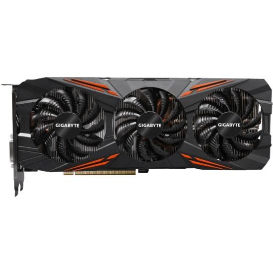 Видеокарта GIGABYTE GeForce GTX 1070 1620Mhz PCI-E 3.0 8192Mb 8008Mhz 256 bit DVI HDMI HDCP (GV-N1070G1 GAMING-8GD)
