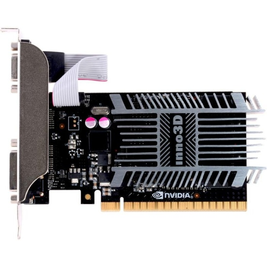 Видеокарта INNO3D GeForce GT710 1024Mb N710-1SDV-D3BX - низкая цена, доставка или самовывоз по Твери. Видеокарта INNO3D GeForce GT710 1024Mb купить в интернет магазине ОНЛАЙН ТРЕЙД.РУ.