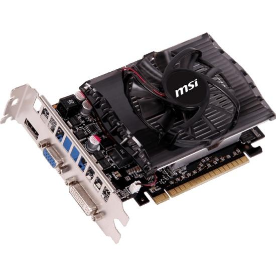 Видеокарта MSI GeForce GT 730 750Mhz PCI-E 2.0 4096Mb 1800Mhz 128 bit DVI HDMI HDCP N730-4GD3 - низкая цена, доставка или самовывоз по Твери. Видеокарта ЭмСиАй GeForce GT 730 750Mhz PCI-E 2.0 4096Mb 1800Mhz 128 bit DVI HDMI HDCP купить в интернет магазине ОНЛАЙН ТРЕЙД.РУ.