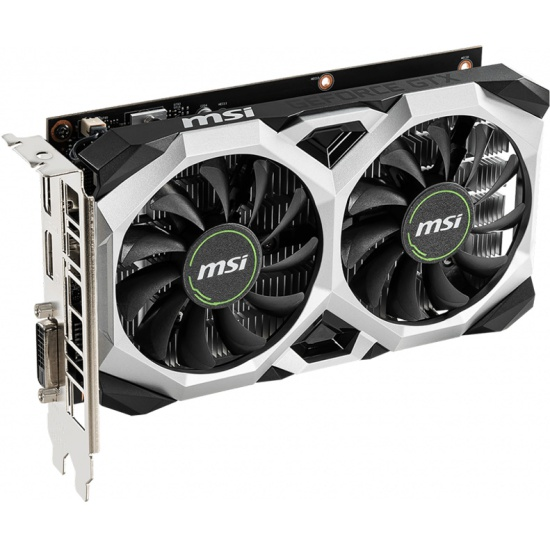 Видеокарта MSI GeForce GTX 1650 PCI-E 3.0 4096Mb 128 bit DVI HDMI Display Port HDCP VENTUS XS OC (GTX 1650 VENTUS XS 4G OC)
