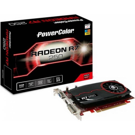 Видеокарта POWERCOLOR Radeon R7 250 2048Mb (AXR7 250 2GBD3-DH) — купить в интернет-магазине ОНЛАЙН ТРЕЙД.РУ