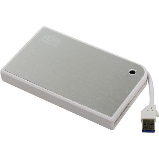 Внешний корпус для HDD 2.5 AgeStar 3UB2A14 пластик/алюминий белый 3UB2A14 (WHITE) - купить по выгодной цене в интернет-магазине ОНЛАЙН ТРЕЙД.РУ Воронеж
