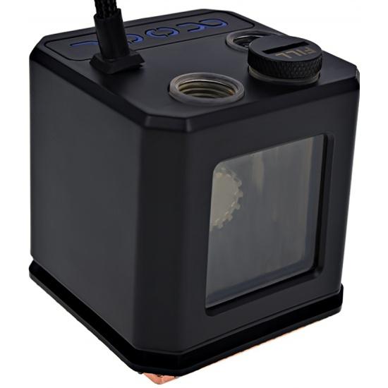 Водоблок с помпой Alphacool Eisbaer (Solo) - Black (12511) - купить с доставкой по России, цены, описание, характеристики, отзывы.