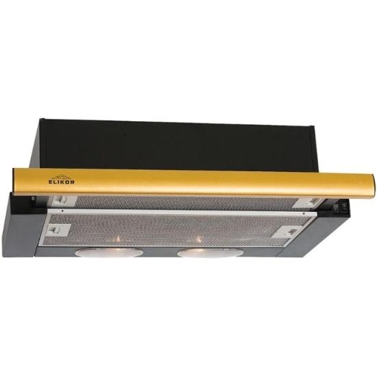 Кухонная вытяжка Elikor Интегра 60П-400-В2Л черн/дуб неокр.