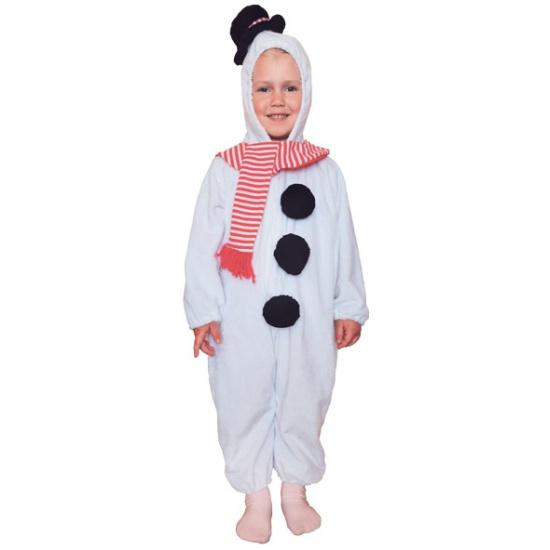 Карнавальный костюм WINTER WINGS N02399 Снеговик комбинезон 3-4 года ... b1121ba4710b2