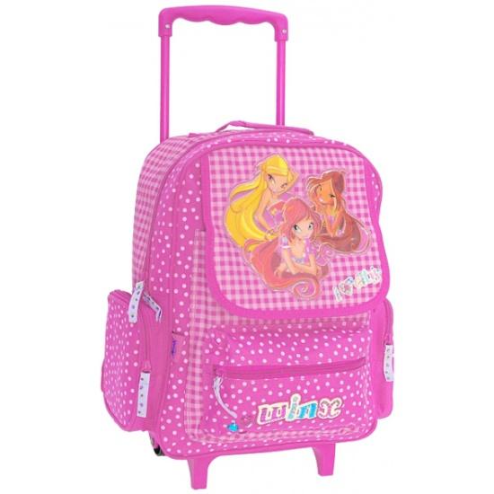 Рюкзак на колесиках winx рюкзак на колесах для девочек монстер хай