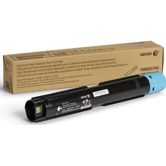 Тонер-картридж XEROX 106R03748 VersaLink C7020/7025/7030 голубой (16.5K) — купить в интернет-магазине ОНЛАЙН ТРЕЙД.РУ