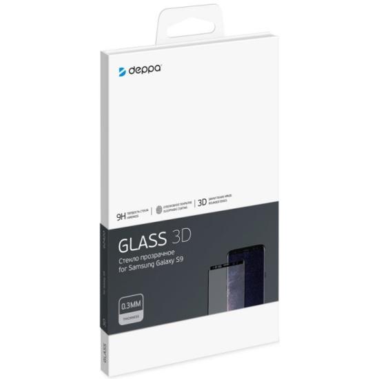 Защитное стекло Deppa 3D для Samsung Galaxy S7 0.3 мм черный