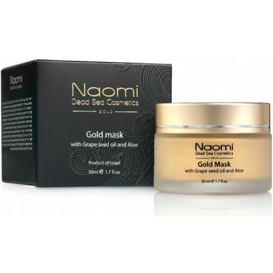 Золотая маска NAOMI с маслом косточек винограда и алоэ, 50 мл - купить в интернет магазине с доставкой, цены, описание, характеристики, отзывы