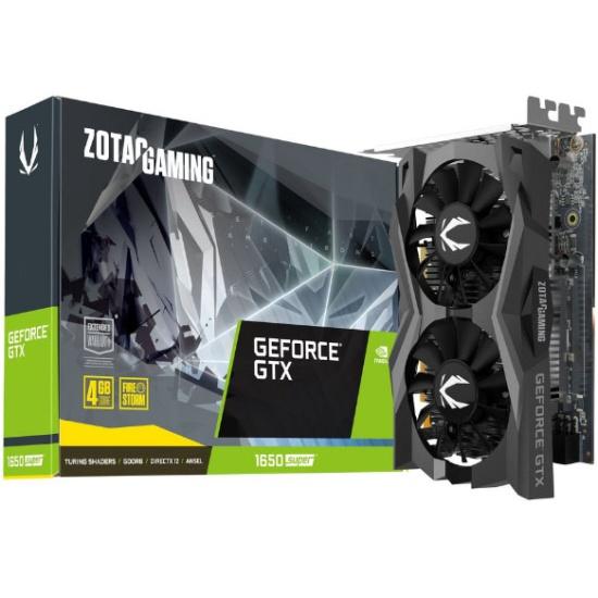 Видеокарта ZOTAC GeForce GTX 1650 SUPER 4096Mb Twin Fan — купить в интернет-магазине ОНЛАЙН ТРЕЙД.РУ