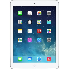 ������� Apple iPad Air 128Gb Wi-Fi + Cellular Silver (ME988RU/A)