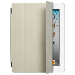 ������� Apple iPad Smart Cover Leather Cream MD305ZM/A ��� iPad 2/3/4, ����, ��������