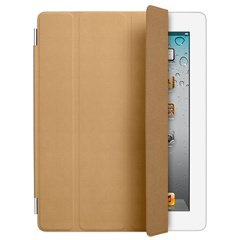 ������� Apple iPad Smart Cover Leather Tan MD302ZM/A ��� iPad 2/3/4, ����, ���������-����������