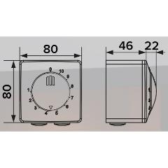 Регулятор скорости ERA РС-Н 2,5А для вентиляторов (накладной монтаж) Изображение 2 - купить в интернет магазине с доставкой, цены, описание, характеристики, отзывы