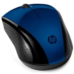 Мышь HP Wireless 220 синий оптическая (1200dpi) беспроводная (2but)