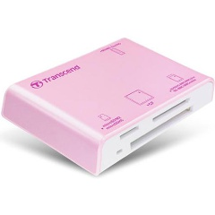 ��������� Transcend RDP8 All-in-1 USB2.0 pink