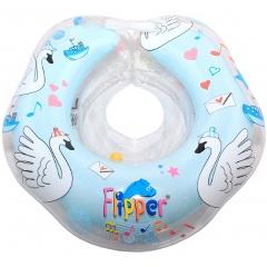 Круг на шею музыкальный ROXY KIDS Flipper, Лебединое озеро, голубой Изображение 1 - купить в интернет магазине с доставкой, цены, описание, характеристики, отзывы