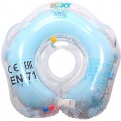 Круг на шею музыкальный ROXY KIDS Flipper, Лебединое озеро, голубой Изображение 5 - купить в интернет магазине с доставкой, цены, описание, характеристики, отзывы