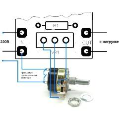 Регулятор мощности Мастер-Кит ВМ247, 2500Вт (11А)/ 220В Изображение 2 - купить в интернет магазине с доставкой, цены, описание, характеристики, отзывы