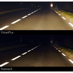 Лампа галогенная PHILIPS H4 VisionPlus 12V 60/55W, 2 шт, 12342VPS2 Изображение 4 - купить в интернет магазине с доставкой, цены, описание, характеристики, отзывы