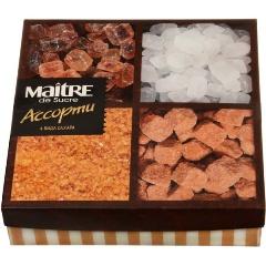 Сахар MAITRE набор ассорти 4 вида, 385 гр.