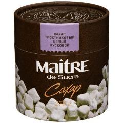 Сахар MAITRE тростниковый белый кусковой, 270 гр.