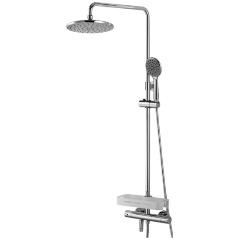 Душевая система Lemark Tropic LM7010C для ванны и душа, термостатический Изображение 1 - купить в интернет магазине с доставкой, цены, описание, характеристики, отзывы