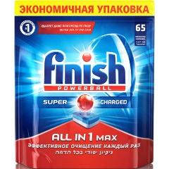 Таблетки для посудомоечных машин FINISH All in 1, 65 шт