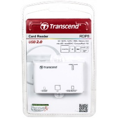 ��������� Transcend RDP8 All-in-1 USB2.0 white