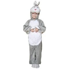 Карнавальный костюм WINTER WINGS N02390 Зайчик серый комбинезон 5-7 лет 51c15c56f4996