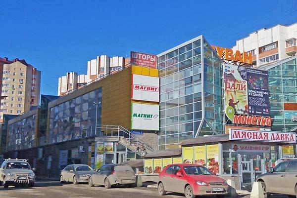 ULTRA, торгово-развлекательный комплекс, улица