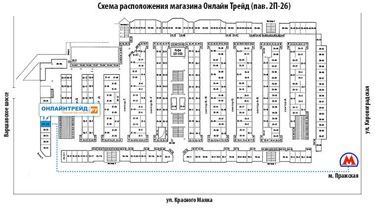 Электронный рай на пражской схема павильонов фото 245
