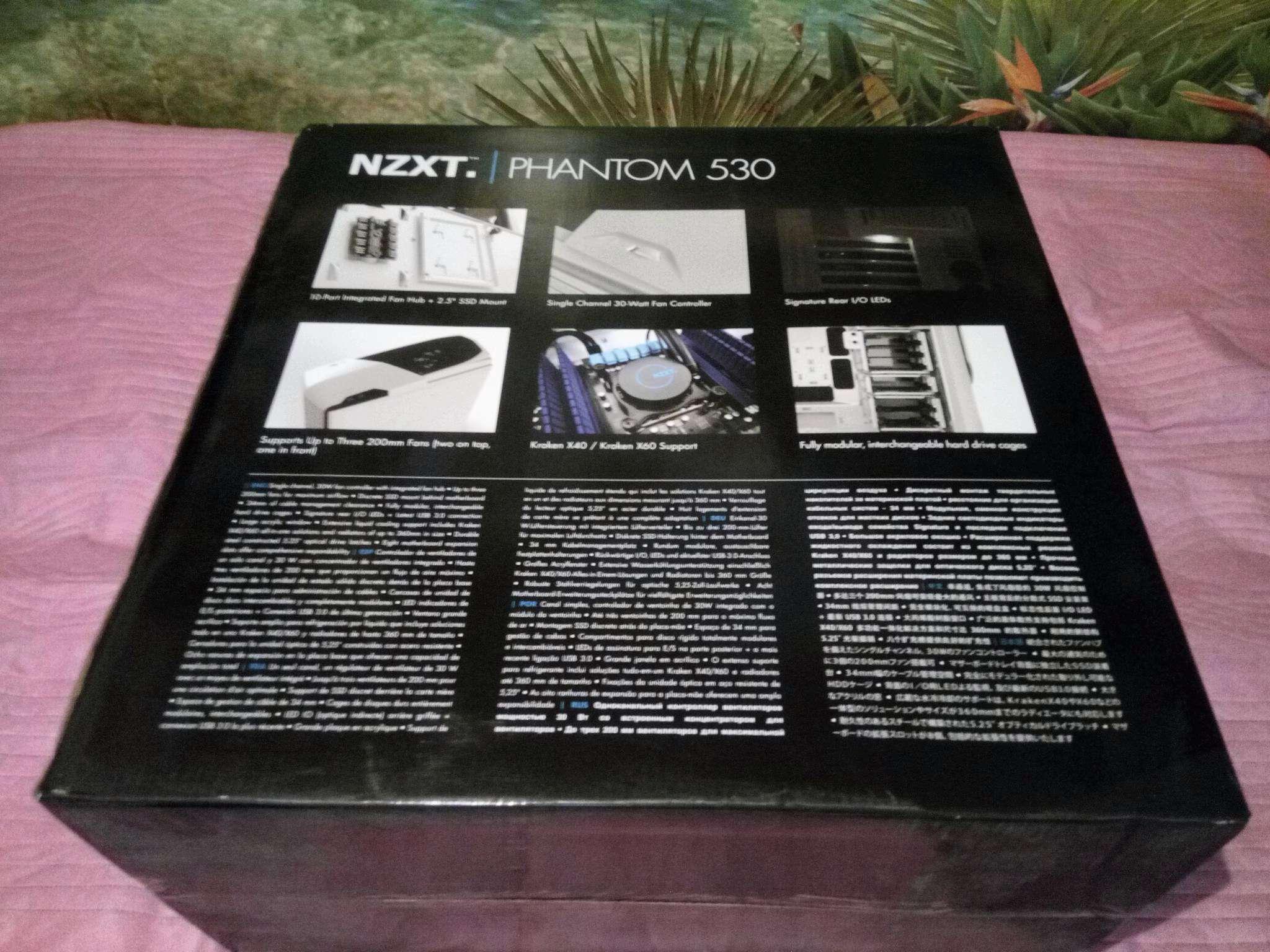 Корпус ATX NZXT Phantom 820 Без БП белый