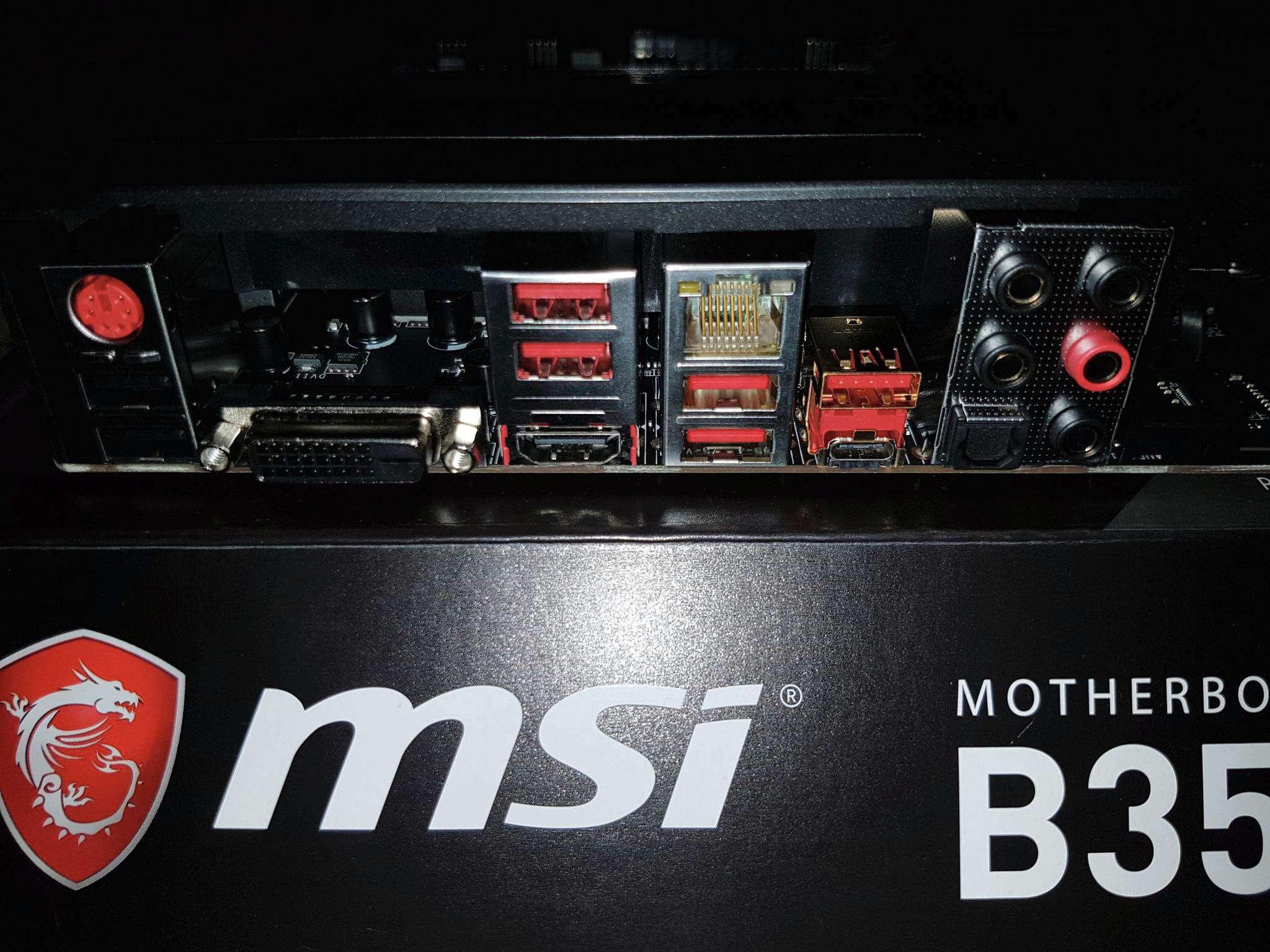 materinskaya plata msi b350 gaming pro carbon am4 atx 1 materinskaya plata msi b350 gaming pro carbon am4 atx 1